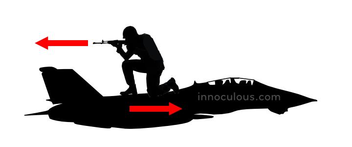 Shooting a Bullet Backwards