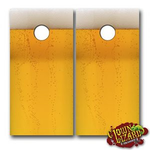 CL0038-Beer-CORNHOLE-LAMINATED-DECAL-WRAP-SET-Decals-Board-Boards-Vinyl-Sticker-Stickers-Bean-Bag-Game-Wraps-Vinyl-Graphic-Image-Corn-Hole-0