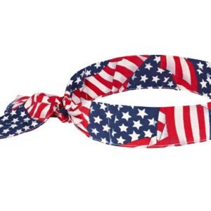 Ergodyne-Chill-Its-6700-Evaporative-Cooling-Bandana-Tie-Stars-and-Stripes-0