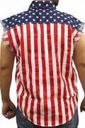 Mens-USA-Flag-Sleevless-Denim-Shirt-Biker-0-0