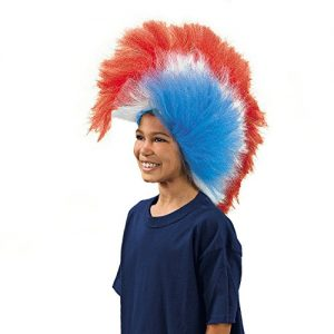 Patriotic-Mohawk-Wig-USA-Red-White-Blue-Flag-American-4th-Of-July-Party-0
