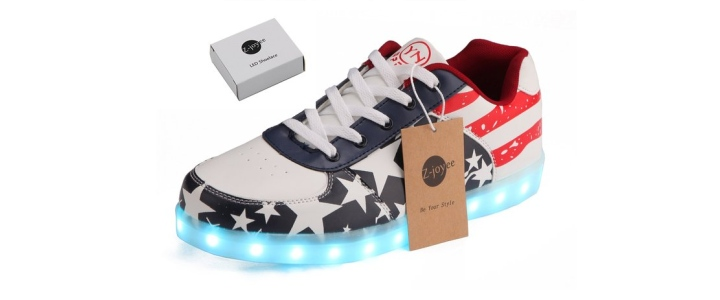Z-joyee USB-powered Flashing Fashion Sneakers