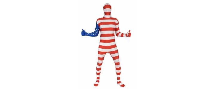 Morphsuit Flag USA