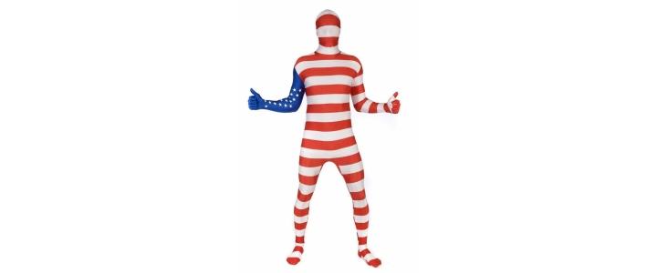Morphsuit Flag USA