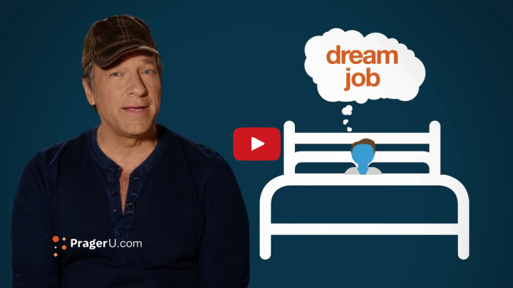 mike rowe follow your passion