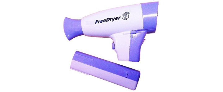 FreeDryer Cordless Hair Dryer