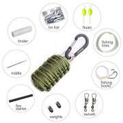 Gonex-550-Paracord-Survival-Bracelet-Grenade-Keychain-Emergency-Survival-Kit-with-Carabiner-Eye-Knife-Fire-Starter-Fishing-Tool-for-Camping-Hiking-Hunting-Travel-0-0