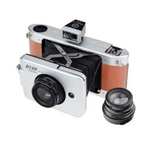 Lomography-Belair-Deluxe-Kit-Includes-X-6-12-Jetsetter-Camera-35mm-Back-9058mm-Lenses-2x-Front-LensRear-Lens-Caps-Body-Cap-Viewfinders-for-9058mm-Lenses-0