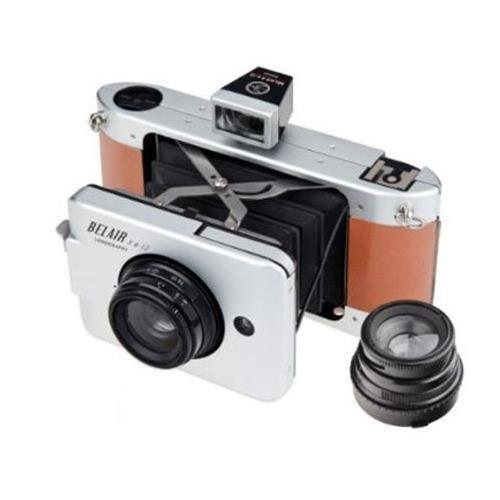 Lomography-Belair-Deluxe-Kit-Includes-X-6-12-Jetsetter-Camera-35mm-Back-9058mm-Lenses-2x-Front-LensRear-Lens-Caps-Body-Cap-Viewfinders-for-9058mm-Lenses-0