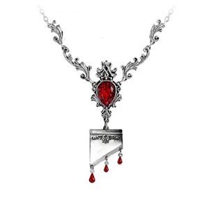 Marie-Antoinette-Necklace-Guillotine-Necklace-Marie-Antoinette-jewelry-Swarovski-Crystal-French-Royal-Jewelry-0