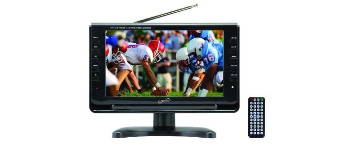 SuperSonic Portable Widescreen Digital TV