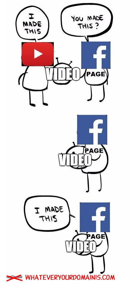 YouTube Made This. No Facebook Did