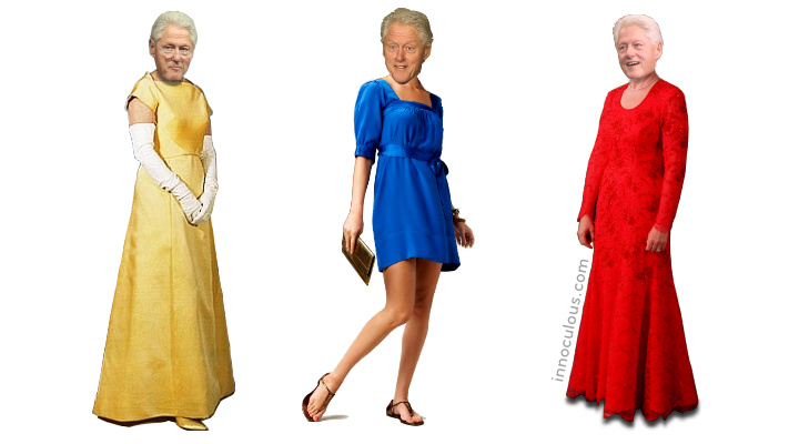 First Ladyman Gowns