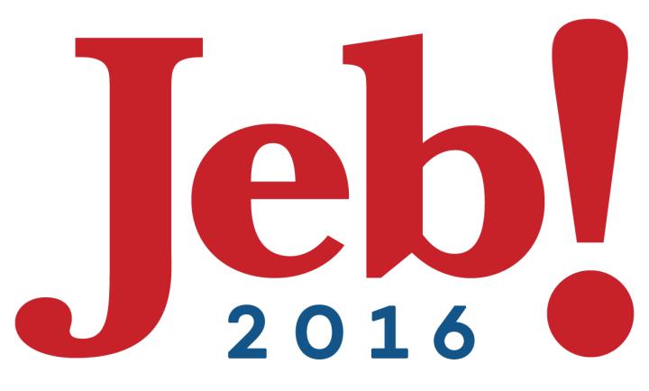 Jeb! campaign logo