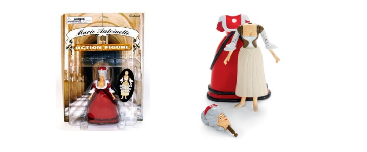 Marie Antoinette action figure