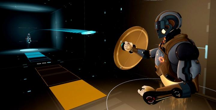 VR Frisbee