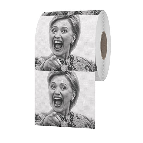 Hillary-Clinton-Toilet-Paper-Flip-Flop-Flush-Wipe-Your-Bottom-Away-With-The-Best-Quality-Novelty-Toilet-Paper-Available-The-Most-Supreme-Gag-Of-The-2016-Election-0