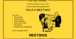lonely? have a meeting!