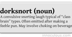 dorksnort definition