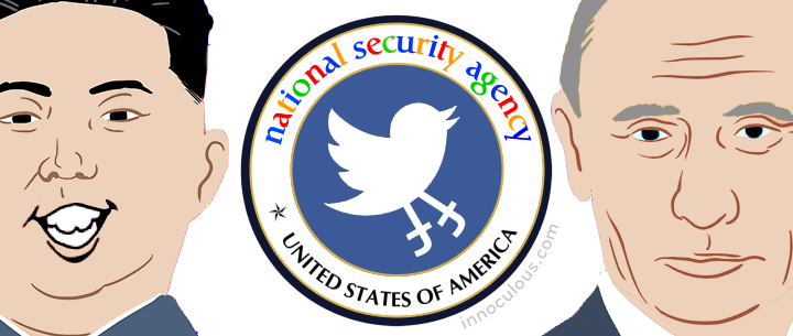 NSA Putin Kim Jong Social