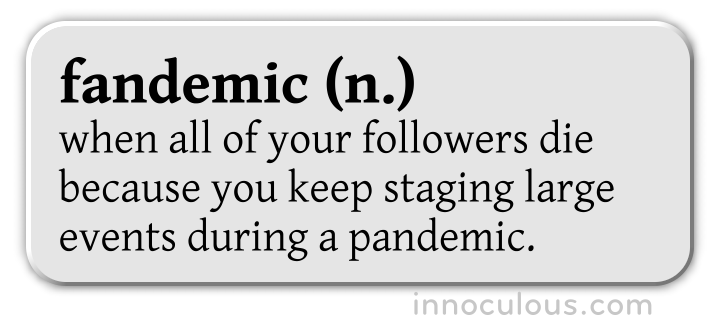 definition of fandemic