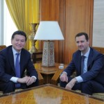 Ilyumzhinov and Assad