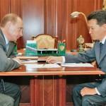 Ilyumzhinov and Putin