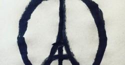 Jean Jullien - Peace for Paris