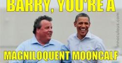 Chris Christie Obama Insult Generator