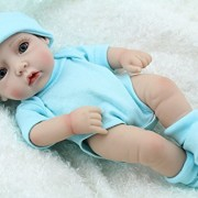 Cute-Little-Boy-Baby-Doll-10inch-Handmade-Full-Viny-Doll-With-Romper-0-1