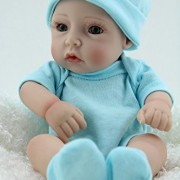 Cute-Little-Boy-Baby-Doll-10inch-Handmade-Full-Viny-Doll-With-Romper-0-3