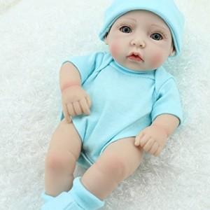 Cute-Little-Boy-Baby-Doll-10inch-Handmade-Full-Viny-Doll-With-Romper-0