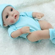 Cute-Little-Boy-Baby-Doll-10inch-Handmade-Full-Viny-Doll-With-Romper-0-4