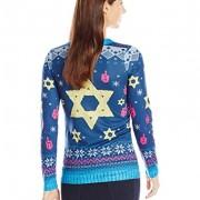 Faux-Real-Womens-Chai-Maintenance-Hanukkah-Sweater-Long-Sleeve-T-Shirt-Multi-XX-Large-0-0