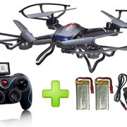 Holy-Stone-F181-RC-Quadcopter-Drone-with-HD-Camera-RTF-4-Channel-24GHz-6-Gyro-Headless-System-Black-0-0