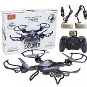 Holy-Stone-F181-RC-Quadcopter-Drone-with-HD-Camera-RTF-4-Channel-24GHz-6-Gyro-Headless-System-Black-0-4