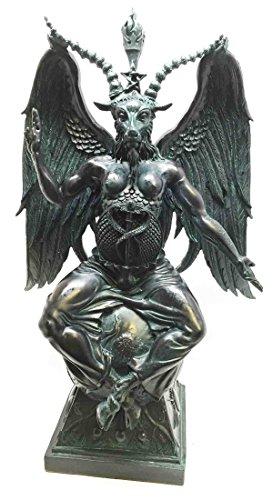 Large-15H-Church-of-Satan-Baphomet-Sabbatic-Goat-Idol-Satanic-Occultic-Statue-0