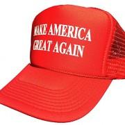 Make-America-Great-Again-Trump-2016-Unisex-adult-Adjustable-Hat-Red-0-0