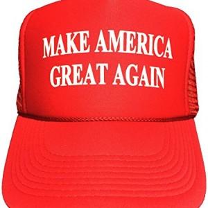 Make-America-Great-Again-Trump-2016-Unisex-adult-Adjustable-Hat-Red-0