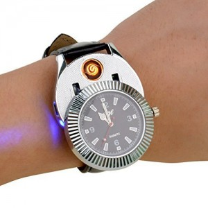 Novelty-Quartz-watches-Cigarette-Cigar-Lighter-with-USB-Electronic-Rechargeable-Windproof-Cigarette-Lighter-0