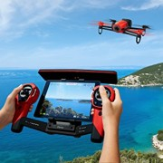 Parrot-Bebop-Quadcopter-Drone-with-Sky-Controller-Bundle-Red-0-3