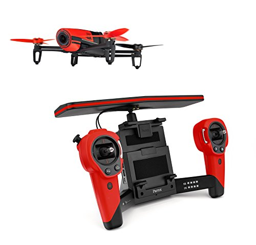 Parrot-Bebop-Quadcopter-Drone-with-Sky-Controller-Bundle-Red-0