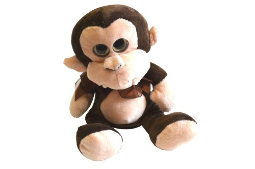 Plush-Soft-Repeating-Talk-Back-Monkey-Toy-0
