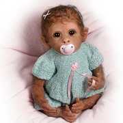 So-Truly-Real-Weighted-And-Fully-Poseable-Baby-Monkey-Doll-By-Linda-Murray-by-The-Ashton-Drake-Galleries-0-4