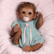 So-Truly-Real-Weighted-And-Fully-Poseable-Baby-Monkey-Doll-By-Linda-Murray-by-The-Ashton-Drake-Galleries-0-6