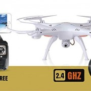 Syma-X5SW-4-Channel-Remote-Controlled-Quadcopter-with-HD-Camera-for-Real-Time-Video-Transmission-31-x-31-x-105cm-White-0-2