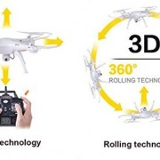 Syma-X5SW-4-Channel-Remote-Controlled-Quadcopter-with-HD-Camera-for-Real-Time-Video-Transmission-31-x-31-x-105cm-White-0-5