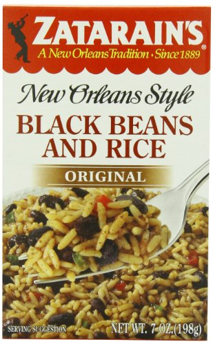 Zatarains-New-Orleans-Style-Black-Beans-Rice-7-Ounce-Boxes-Pack-of-12-0
