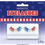 Amscan-Party-Ready-Team-Spirit-Fake-Eyelashes-BlueRedWhite-47-x-5-0