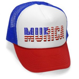 MURICA-FOURTH-OF-JULY-USA-4th-america-patriot-Mesh-Trucker-Cap-Hat-Cap-RWB-0